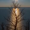 Sun set Yellowstone Lake Yellowstone 8-28-2020_V9A8907