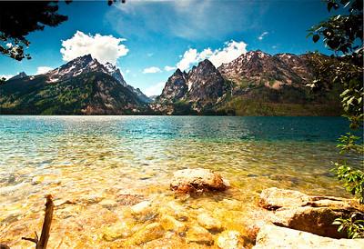 Jackson lake, Grand Tetons