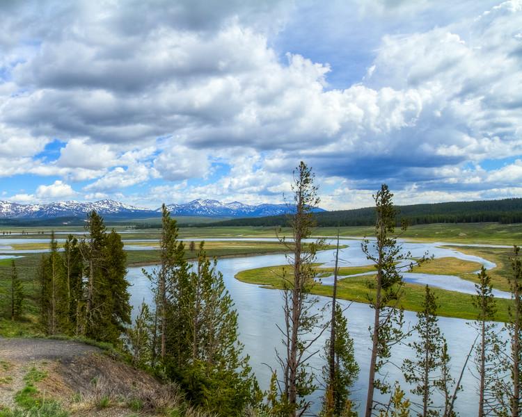 Hayden Valley Yellowstone River