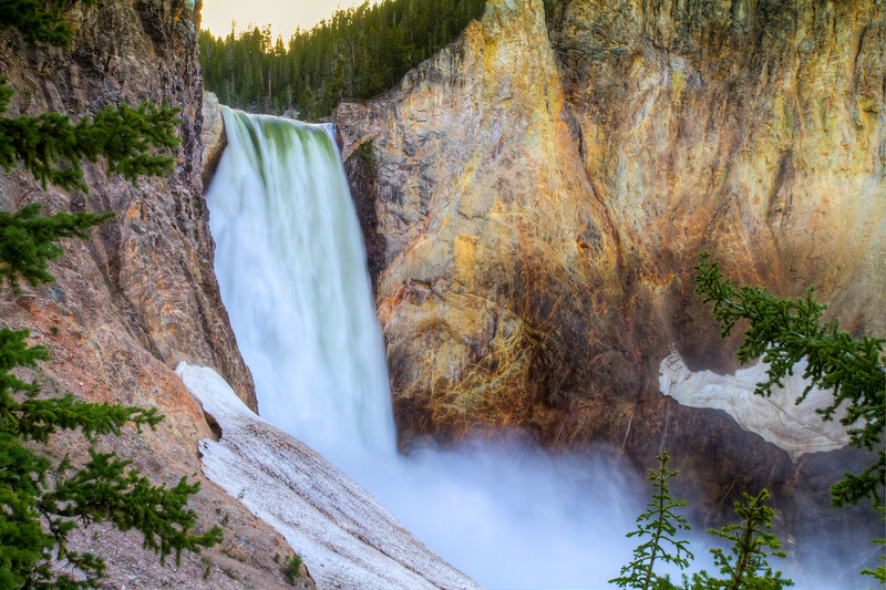 Lower Falls<br /> Lower Falls Yellowstone National Park, Wyoming
