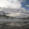 "Yellowstone geyser, Wyoming<br /> ""Vapor in the afternoon"""