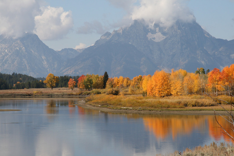 """At the river's bend""<br /> Tetons, outside of Yellowstone"