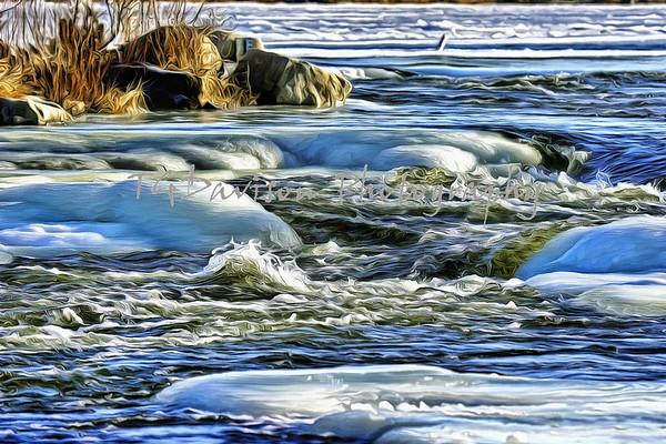 Yorkville Dam Winter 2017