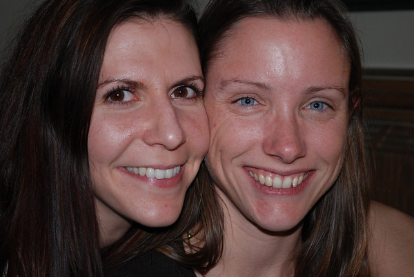 "Kristina and Jerri say ""Cheese""!"