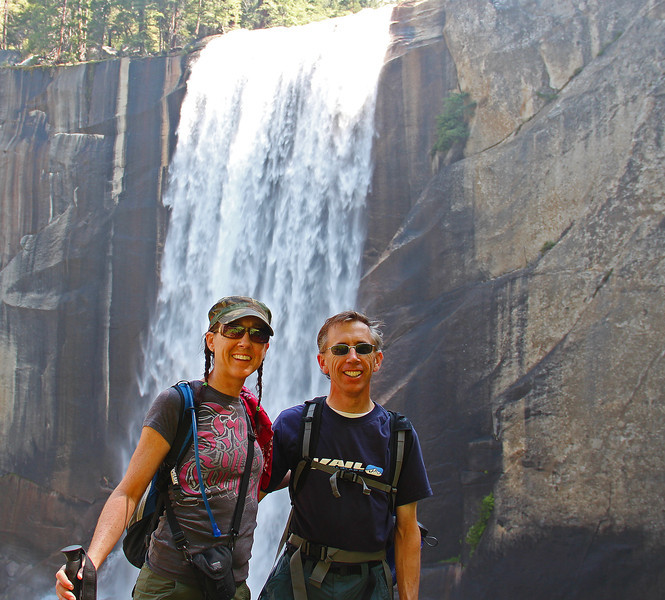 Bonnie and John, Vernal Falls