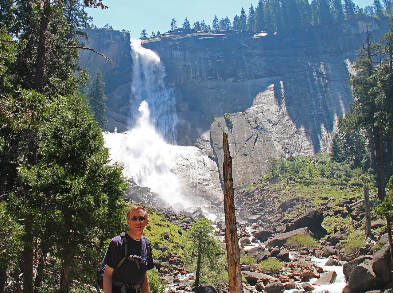 John as we neared Nevada Falls.