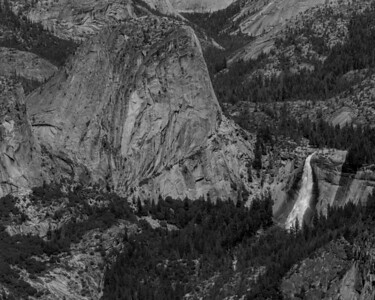 Liberty Cap and Nevada Fall.