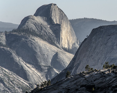 The less common side of Half Dome.