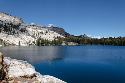 One last view of May Lake.