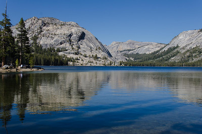 Across Tenaya Lake from the west end.