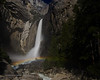 Lower Yosemite Falls Moonbow II<br /> 19 April 2008