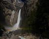 Lower Yosemite Falls Moonbow II<br /> 19 April 2008