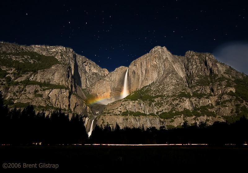 Yosemite Falls Moonbow<br /> <br /> 10 June 2006