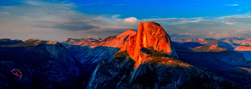 Blazing Hot Half Dome