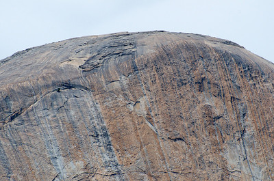 The top of Half Dome