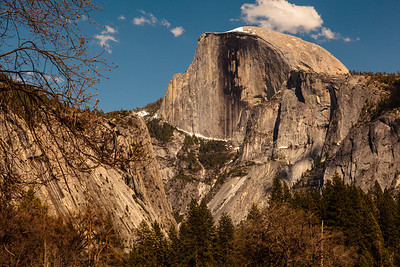 Half-Dome's Broken Face