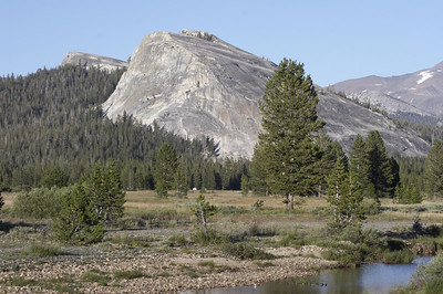 This rock is Lembert dome - seen in other photos here around the meadow.