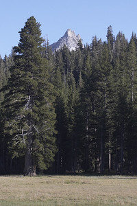 A different view of the peak on the other side of Tuolumne Meadows.