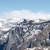 A good look at Half Dome off in the distance.