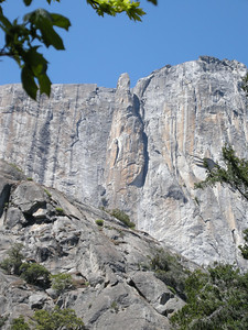 Lost Arrow Spire, just east of Yosemite Falls.