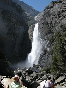 Lower Yosemite Fall.