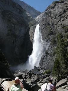 Lower Yosemite Fall.