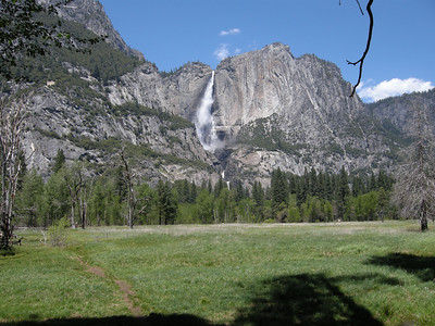 Yosemite Falls; marvelous!
