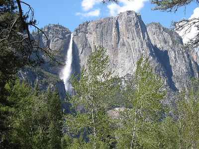 A different view of Upper Yosemite Fall.