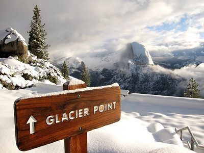 Glacier Point/Yosemite Valley: Jan 23-25, 2009
