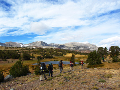 Mono Pass, Yosemite: Sep 23-25, 2011