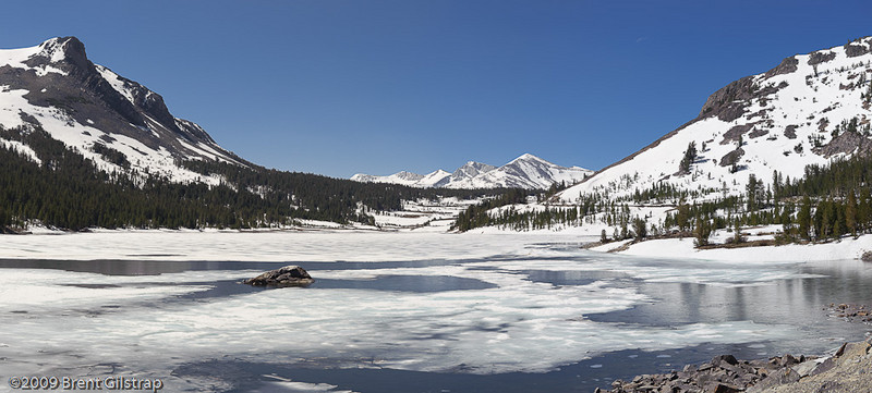 Tioga Lake Panorama<br /> <br /> 25 May 2009