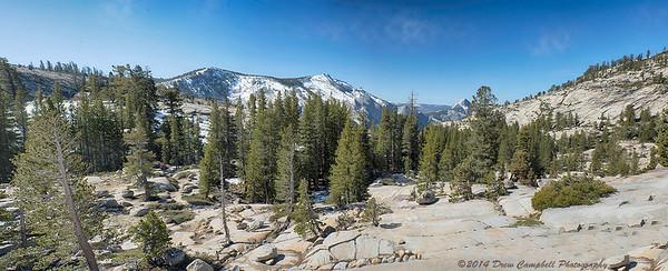 Highland vista view at over 8000 feet elevation