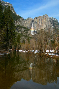Yosemite Falls (two views)