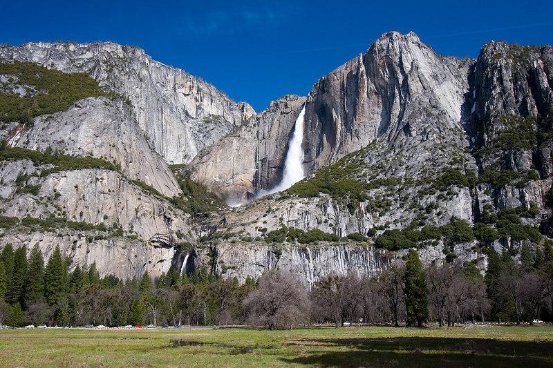 Yosemite Falls from Sentinal Bridge