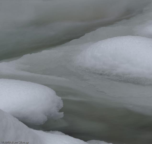 Yosemite Creek Ice<br /> 24 January 2010