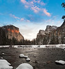 Sunset at Valley View<br /> <br /> Yosemite Valley<br /> 10 February 2009