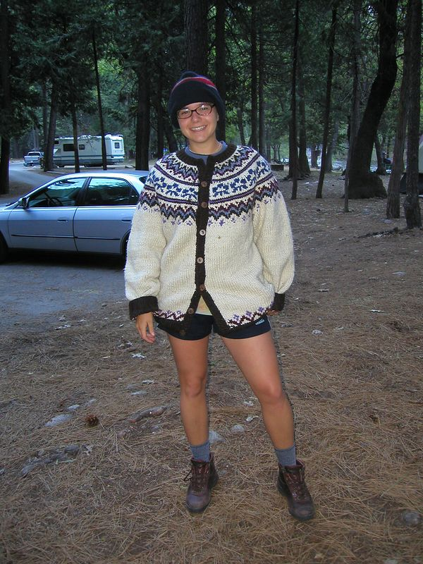 Nice camping outfit Lisa!