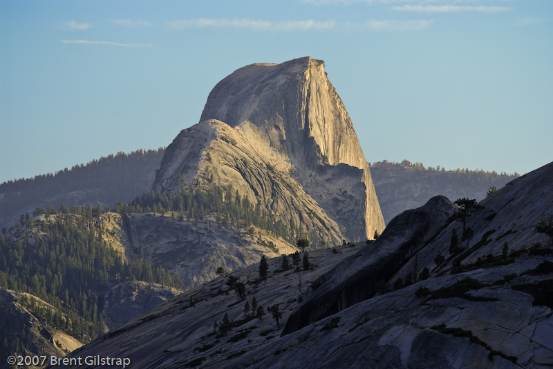 Half Dome from Upper Tenaya Canyon (close up)