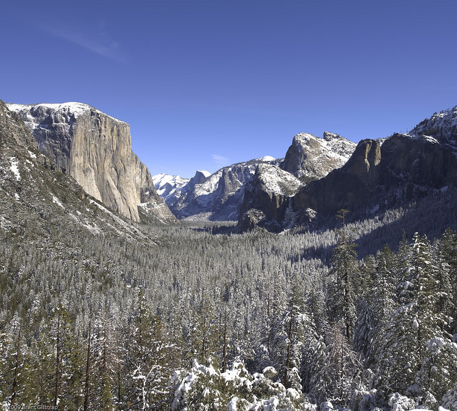 Yosemite Valley from Tunnel View<br /> <br /> 10 February 2009