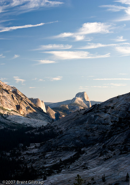 Half Dome from Tenaya Canyon