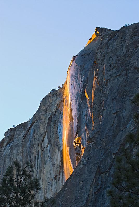 """Horsetail Falls""<br /> 23 February 2006"