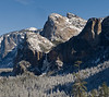 Cathedral Rocks and Bridalveil Falls<br /> <br /> 10 February 2009