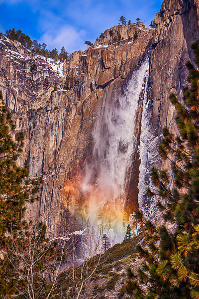 Bridalveil Falls, California, Yosemite, National Park
