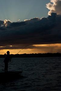 Fisherman in sunset :)