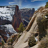 trail to Observation Point / Zion Park