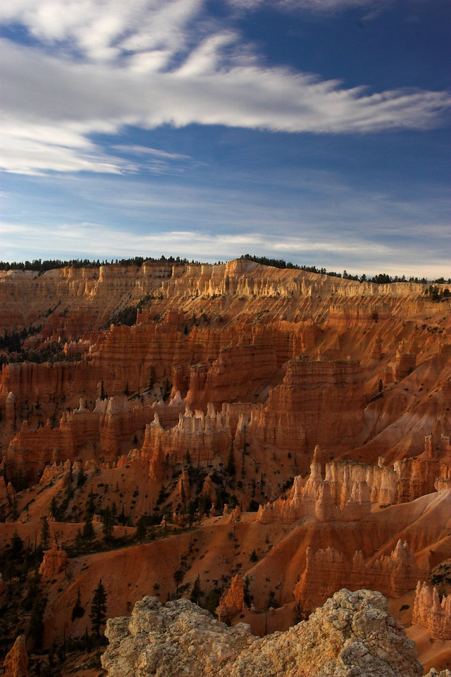 A beautiful start to an autumn day. Bryce Canyon, Utah.
