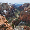 view from Observation Point / Zion Park