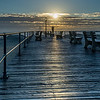 Sunrise Over Pier, Ocean Grove, NJ