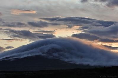Ground fog around a volcano @ Thingvellir Iceland 30Jul09