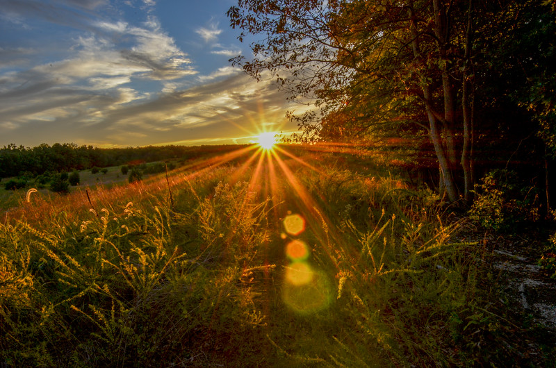 Sunset Rays, Howell, NJ